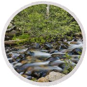 Galena Creek Round Beach Towel