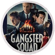 Gangster Squad Round Beach Towel