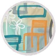 Garden Chair Round Beach Towel