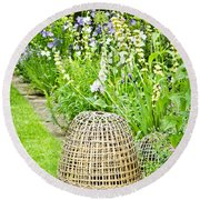 Garden Decoration Round Beach Towel