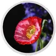 Garden Delight Round Beach Towel