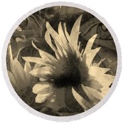Garden Guardian 1 Round Beach Towel