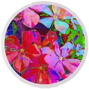 Garden Of Hope 001 Round Beach Towel