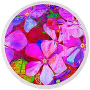 Garden Of Hope 002 Round Beach Towel