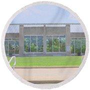 Garfield Park Conservatory Round Beach Towel