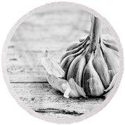 Garlic Round Beach Towel