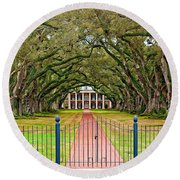 Gateway To The Old South Round Beach Towel by Steve Harrington