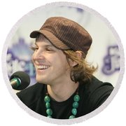 Gavin Degraw Round Beach Towel