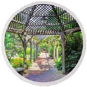 Gazebo Round Beach Towel