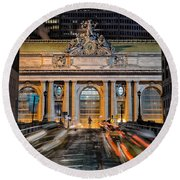 Gct From Park Ave Round Beach Towel