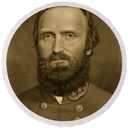 General Stonewall Jackson 1871 Round Beach Towel by Anonymous