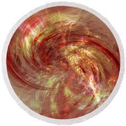 Generally Well Received Round Beach Towel