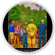 Genesis 9 Round Beach Towel