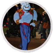 Genie With Moves Round Beach Towel