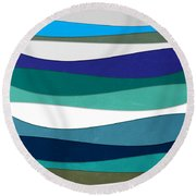 Geometric 16  Round Beach Towel