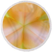 Geomit-iris Round Beach Towel