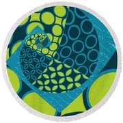 Geomix 14 - Sp01 Round Beach Towel