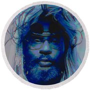 George Clinton Round Beach Towel