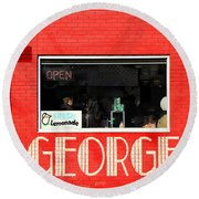 George Diner Round Beach Towel