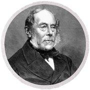 George Villers (1800-1870) Round Beach Towel