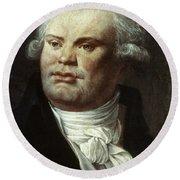 Georges-jacques Danton (1759-1794) Round Beach Towel