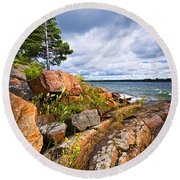 Georgian Bay Round Beach Towel