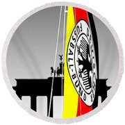 Weltmeister-germany Round Beach Towel