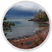 Get Lost In Paradise Round Beach Towel