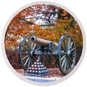 Gettysburg High Water Mark Round Beach Towel