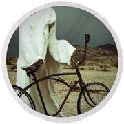 Ghost Rider Round Beach Towel