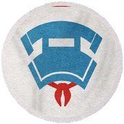 Ghostbusters Round Beach Towel