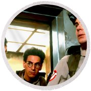 Ghostbusters Round Beach Towel by Paul Tagliamonte