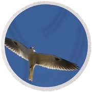 Ghostly Flight Round Beach Towel