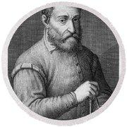 Giacomo Barozzi Da Vignola (1507-1573) Round Beach Towel