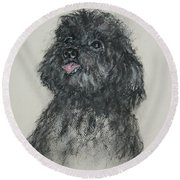 Gigi Round Beach Towel