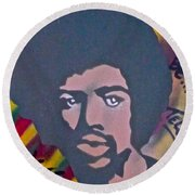 Gil Scott-heron 2 Round Beach Towel