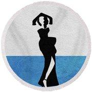 Gilda Round Beach Towel