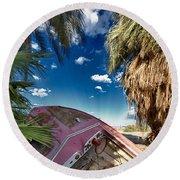 Gilligans Island Round Beach Towel
