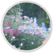 Giverny North Number Nine Round Beach Towel