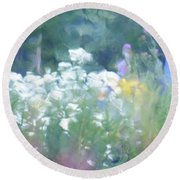 Giverny North Number Two Round Beach Towel