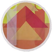 Giza Round Beach Towel
