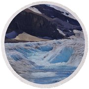 Glacial Meltwater 1 Round Beach Towel