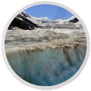 Glacial Meltwater 3 Round Beach Towel