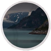 Glacier Bay Round Beach Towel