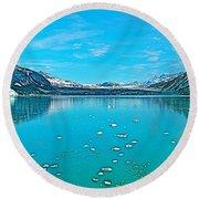 Glacier Bay National Park-alaska Round Beach Towel