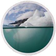 Glacier Bay National Park, Alaska Round Beach Towel