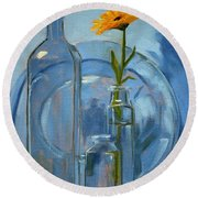 Glass Round Beach Towel