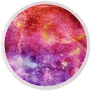 Glaze Abstract Phone Case Round Beach Towel