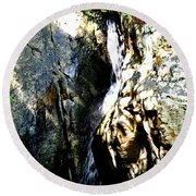 Glen Falls Round Beach Towel