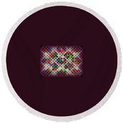 Globes 1 Round Beach Towel